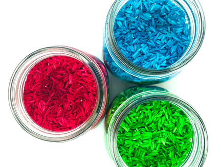 How to make Rainbow Rice with three simple ingredients