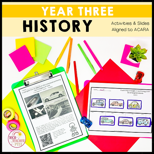 Year 3 History