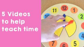 5 Videos to teach time