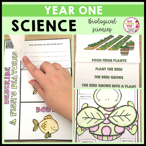 Science Year 1 Biological Sciences