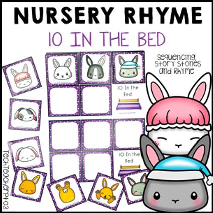 10 In the Bed Nursery Rhyme Activities