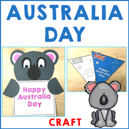 Australia Day Craft Pack