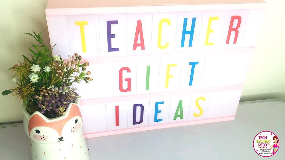 Teacher gift ideas for the end of school that are under $30. Easy Christmas gift ideas for teachers.