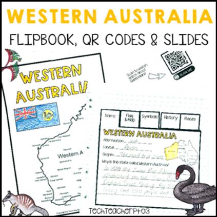 Western Australia Interactive Notebook and Slides
