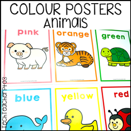 Colour Posters - Animals