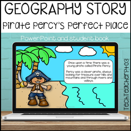 Geography Story Pirate Percy's Perfect Place Landforms and Maps