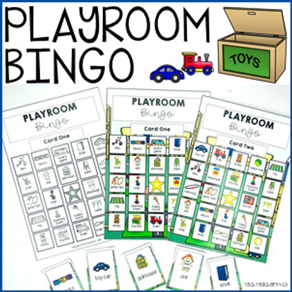 Playroom Bingo Game