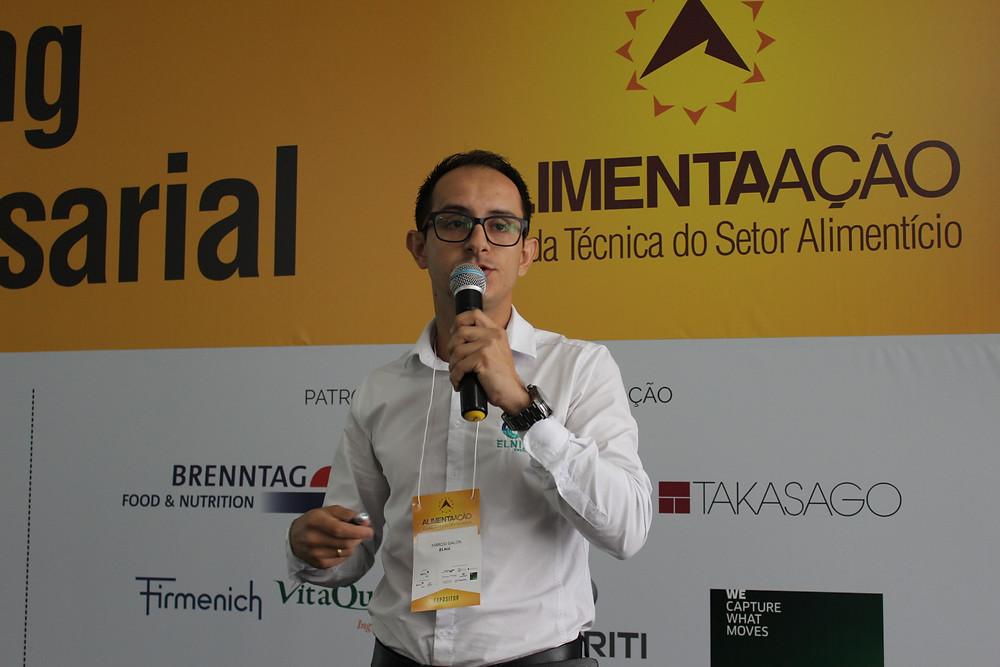 Diretor da Elnix, Márcio Galon de Andrade flou sobre eficiência energética - Crédito: Simone Rockenbach