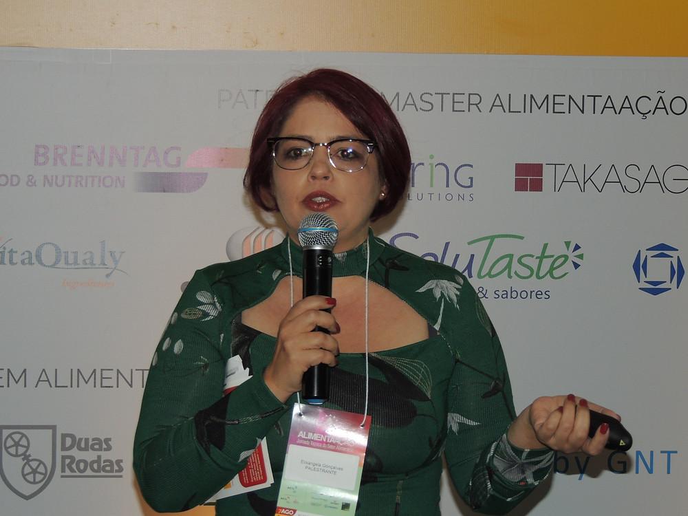 Elisangela Gonçalves comentou sobre a nova legislação de suprimentos - Crédito: Clarissa Jaeger