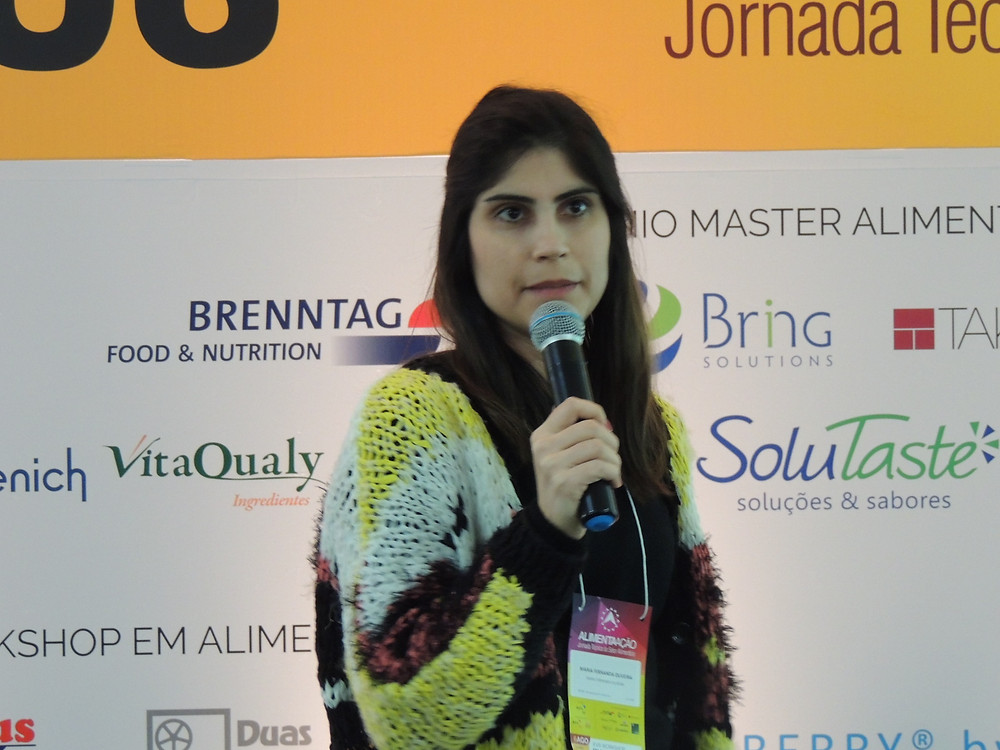 Maria Fernanda Oliveira ressaltou a necessidade do clean labeling - Crédito: Clarissa Jaeger
