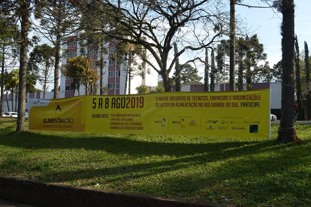3ª Jornada Técnica do Setor Alimentício ocorre no Weiand Hotel - Crédito: Priscila Rodrigues