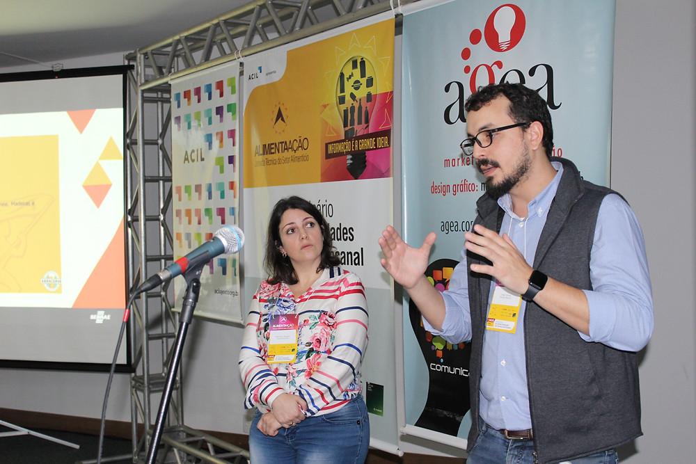 Visão do mercado foi apresentada pelo presidente da Associação dos Cervejeiros Artesanais do RS, Diego Gomes, e técnica - Crédito: Simone Rockenbach