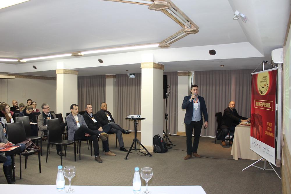 Em 2018 o Meeting atraiu empresários e profissionais das indústrias de alimentação da região - Crédito: Arquivo / Divulgação