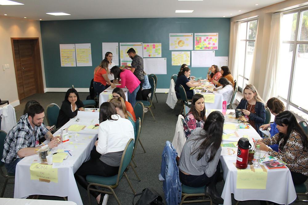 Laboratório contou com a participação de 30 pessoas - Crédito: Simone Rockenbach