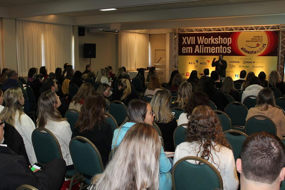 Workshop é destinado a todos que trabalham com alimentos - Crédito: Arquivo / Divulgação