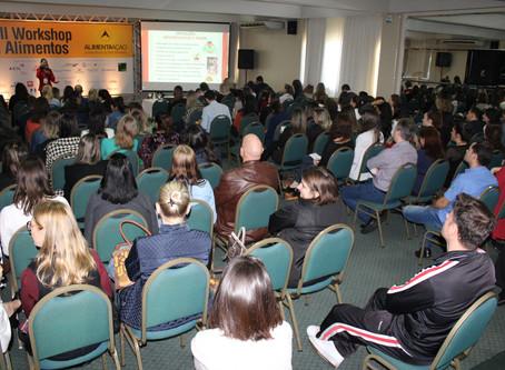Workshop em Alimentos reúne mais de 300 inscritos em dois dias