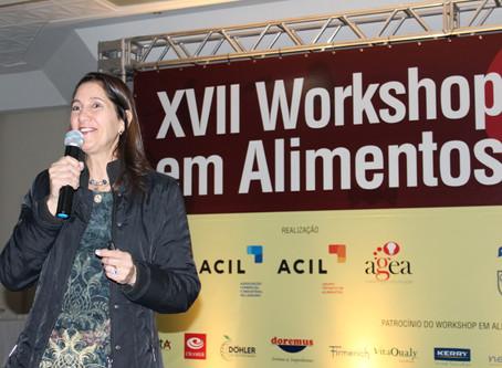 Temas de interesse de toda a cadeia produtiva pautam XVIII Workshop em Alimentos