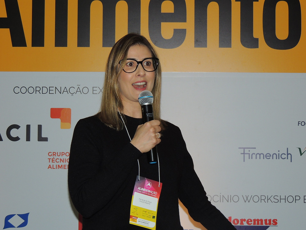 Fernanda de Paula falou sobre proteínas alternativas - Crédito: Clarissa Jaeger