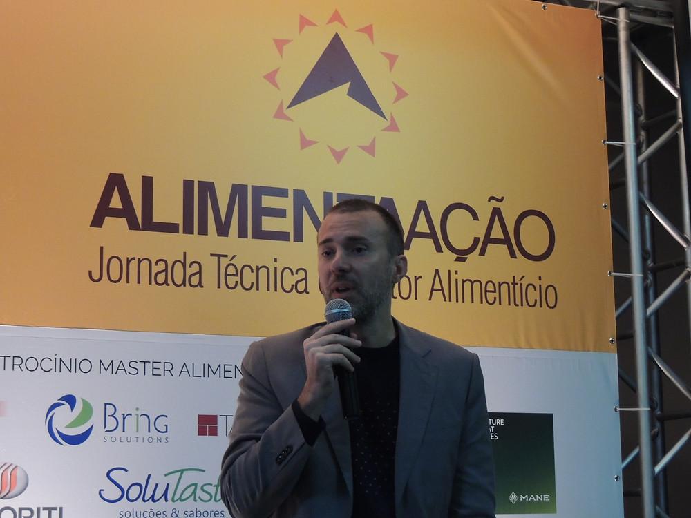 """Empresário português César Couto Ferreira ministrou o painel """"Fabricando o Futuro"""" - Crédito: Clarissa Jaeger"""