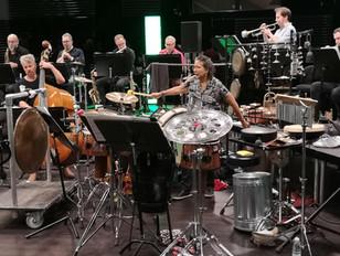 MM rehearsing w. DR big band (2018)