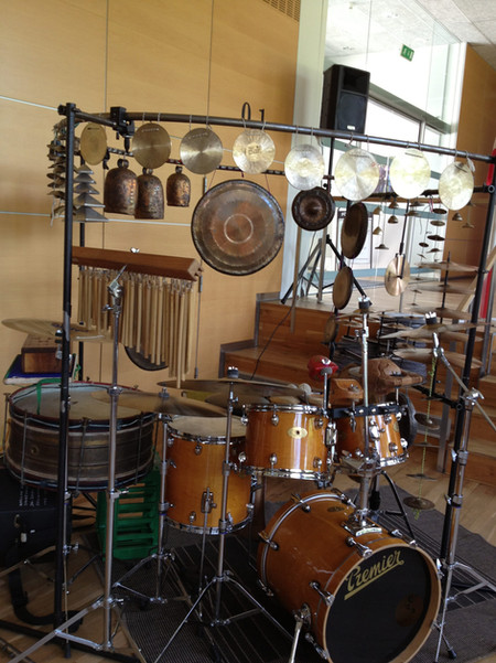 round drum set-up, Aarhus
