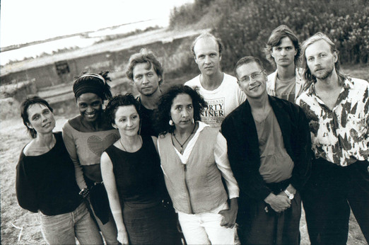 Future Song in it's largest version_from left to right: Aina, Isnel, Elvira, Nils Petter, Marilyn, Klavs, Hans, Audun, Eivind