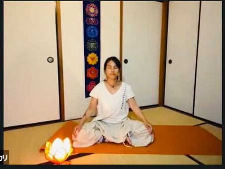 【体感レポート】5月26日射手座満月ZOOMオンライン瞑想会