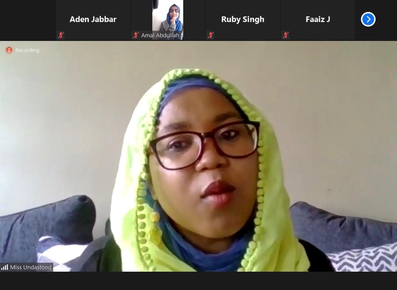 Miss Undastood at Muslim Sway