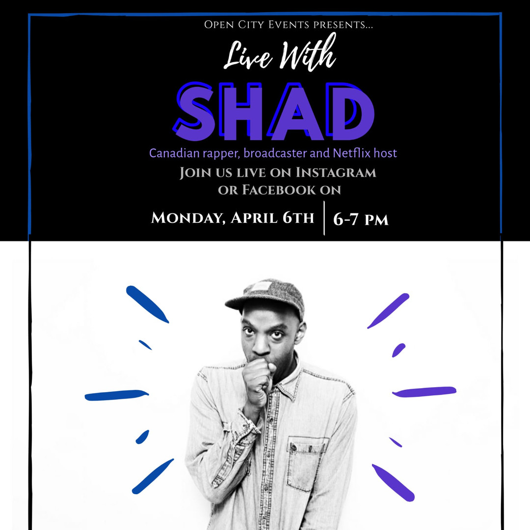 Live with Shad Event