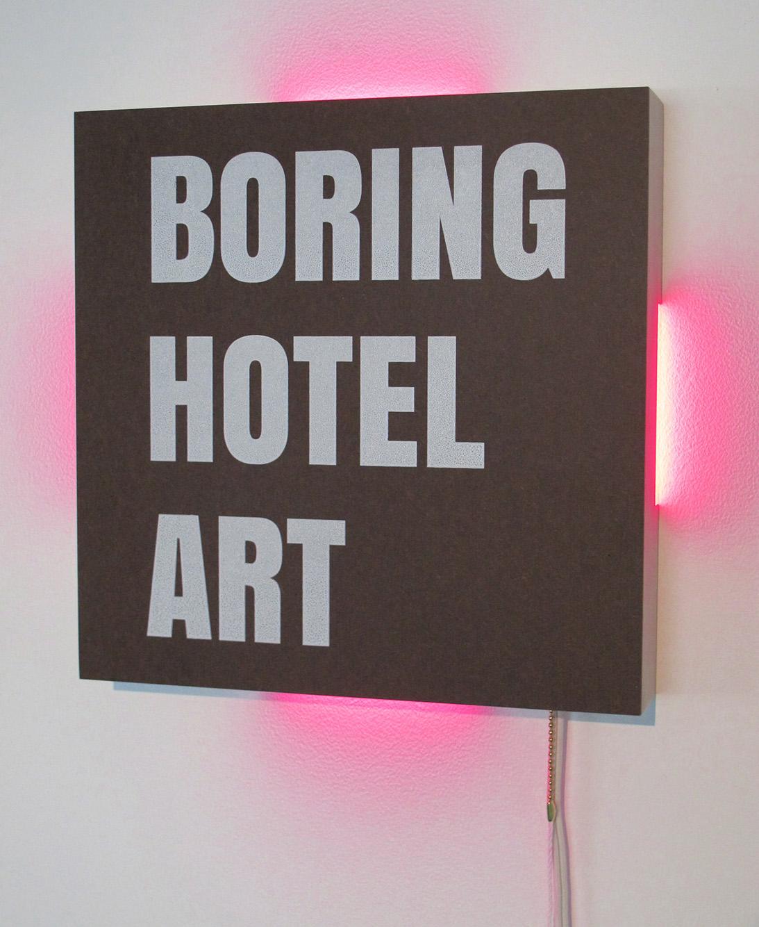 Boring Hotel Art