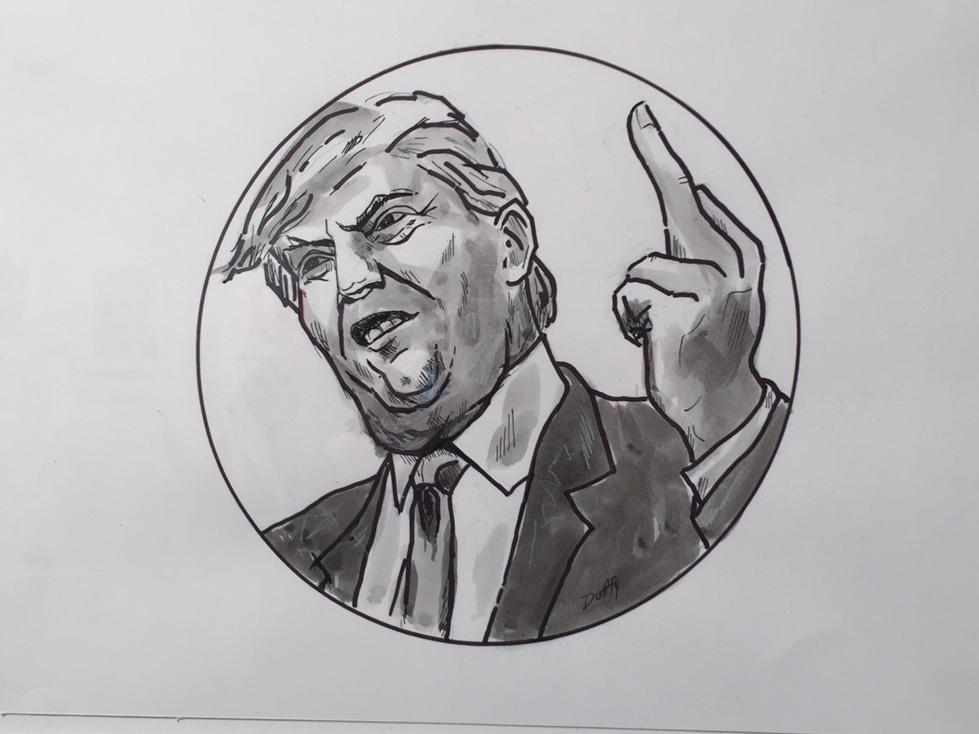 Trump's Finger