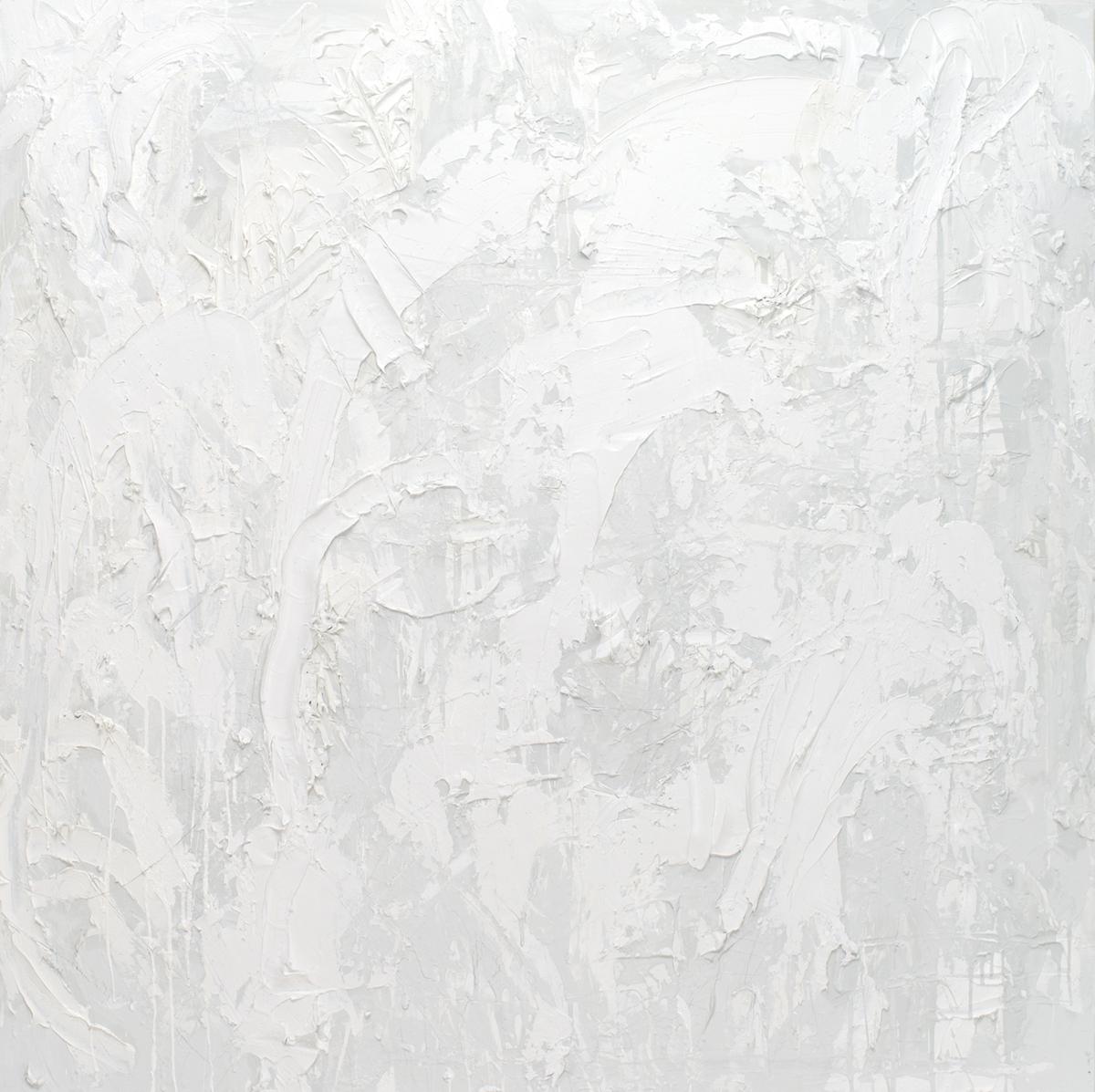 untitled (white flake hue)