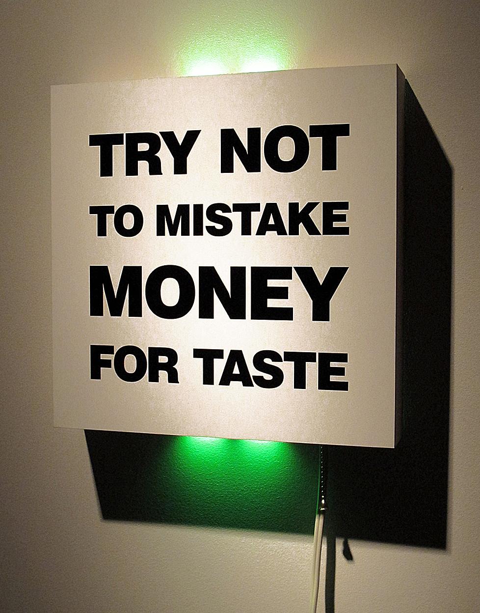 Money & Taste