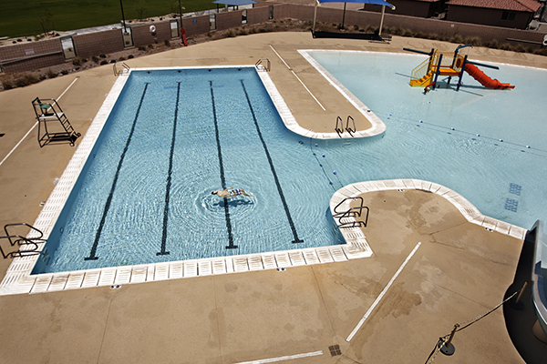 A Public Pool Desert