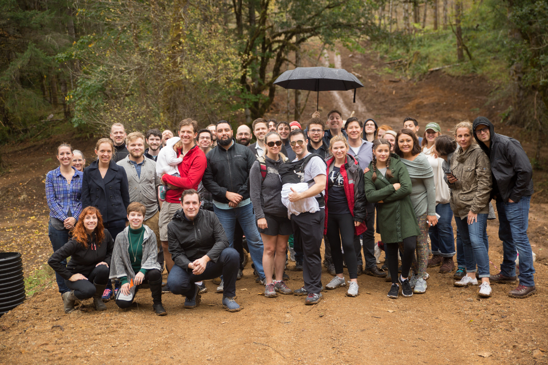 Alumni hike