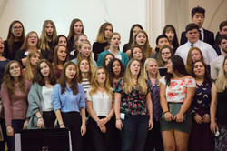 Students and Alumni perform together