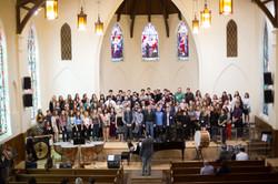 All Choir performance