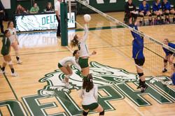 Delphian volleyball