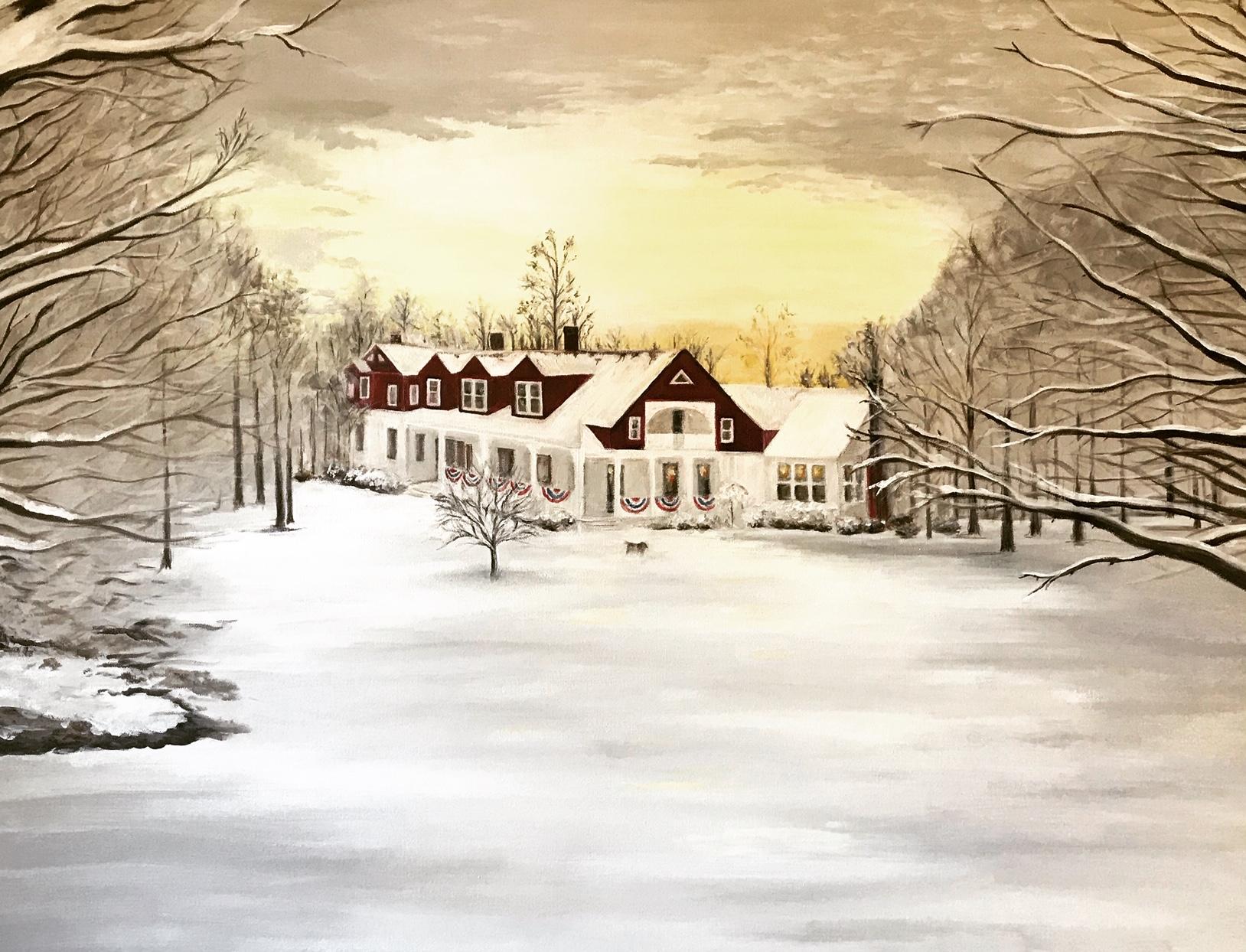 Cedarville Winter Scene