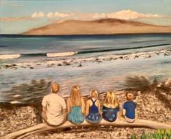 5 kids in Maui