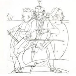 Valerio Adami violoncelle