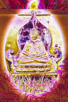 UBUD Buddha Neon no.1