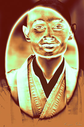 Japanese Zen Monk in Colombia for Peace no.1 Gold