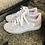 Thumbnail: Leder  Sneaker  in hell Grau /weiß /Rosé
