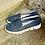 Thumbnail: Blaues Leder Slipper