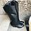 Thumbnail: Glattleder Cowboy Stiefel in schwarz