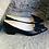 Thumbnail: Schwarzer Glatt Leder Ballerina-Art