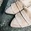 Thumbnail: Bequemer Rauleder Ballerina-Style, Rosé