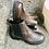 Thumbnail: Weiche Nappa-Leder Stiefelette, braun mit Elastikeinsätzen