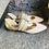 Thumbnail: Beige Leder Ballerina -Art